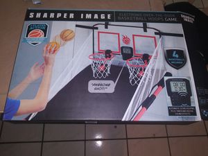 Photo Over the door electronic basketball game