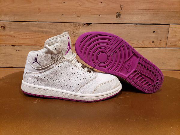 Air For 1 In 116 Offerup Jordan Size 2y Sale SnohomishWa Flight 5 Whitepurple Gp 881439 Nike Girl'skid's Prem Shoes QhdtsrC
