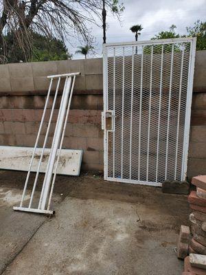 Photo White wrought iron door $75