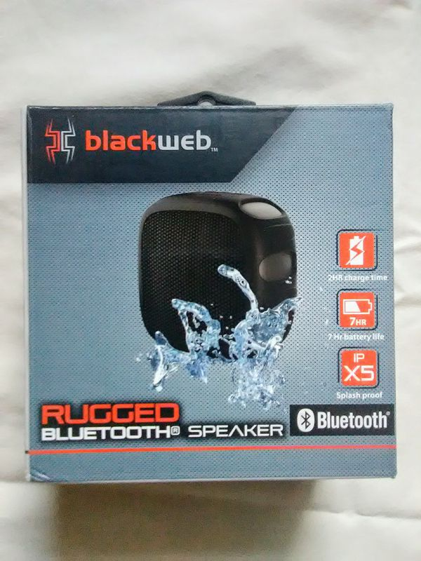 Blackweb Rugged Bluetooth Speaker for Sale in Summerville, SC - OfferUp