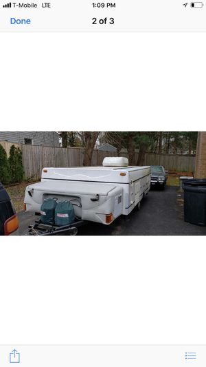 04 pop up camper with slide out & air conditioning for Sale in Herndon, VA