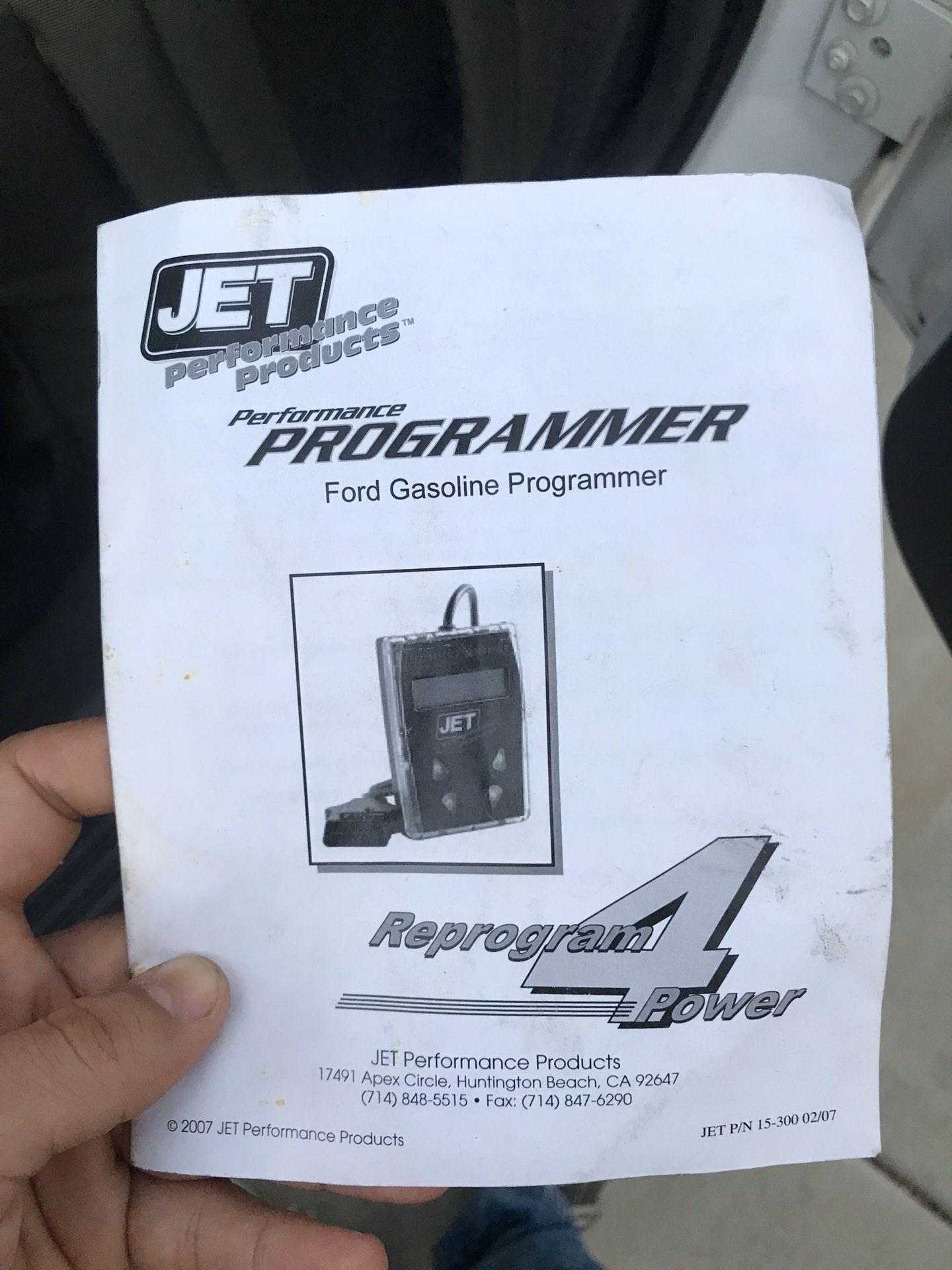 Ford jet programmer