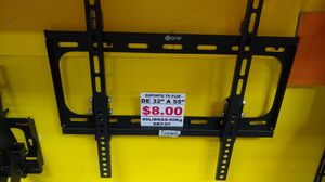 """UNIVERSAL TV WALL MOUNTS FIJO- FIXED FOR 32"""" TO 55"""" EBT -07 for Sale in Miami, FL"""