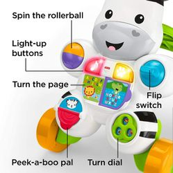 Fisher-Price Learn with Me Zebra Walker   Thumbnail