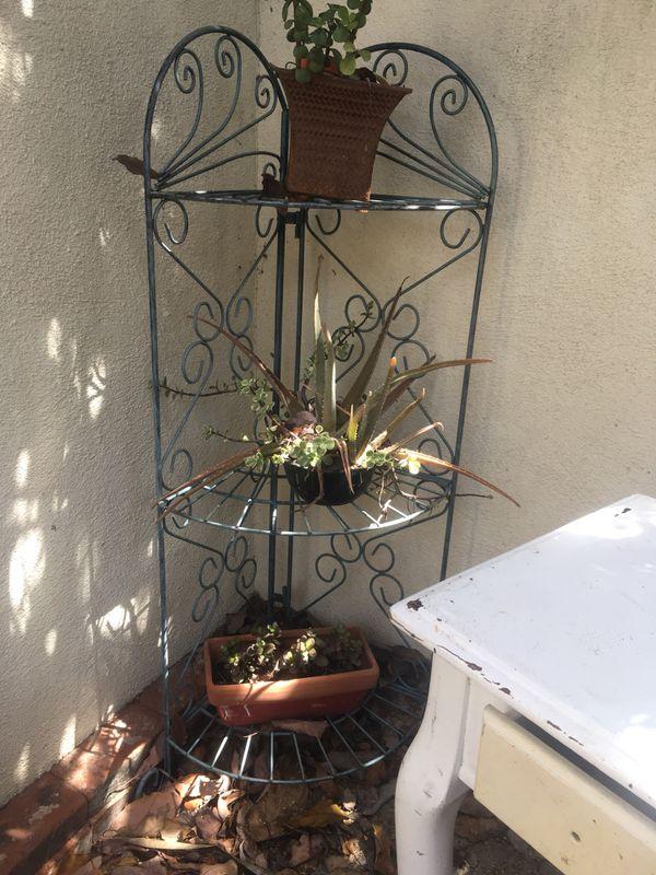 Vintage huge round metal sun garden charm decor and matching metal ...