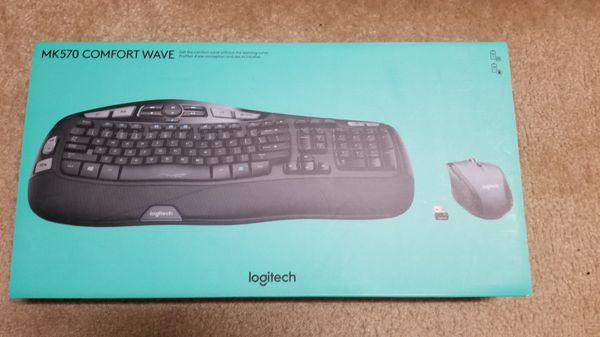 02609562c0d Logitech MK570 Comfort Wave for Sale in Katy, TX - OfferUp