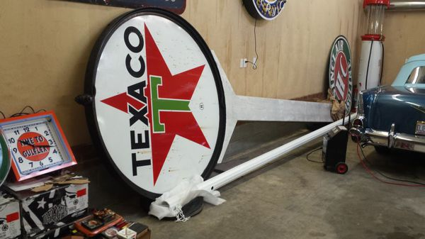 Texaco gas station sign pole for Sale in Greensboro, NC - OfferUp