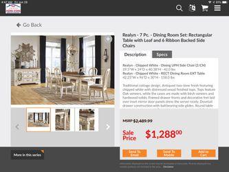 New Dinette Set Ashley Furniture Thumbnail