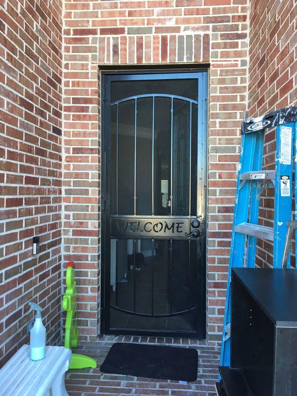 Metal Screen Privacy Door For Sale In Rockwall Tx Offerup