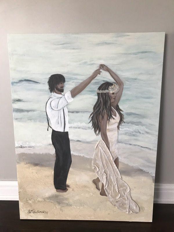 """Canvas art size 30""""x40"""""""