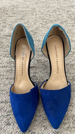 Chinese laundry Blue Heels Thumbnail