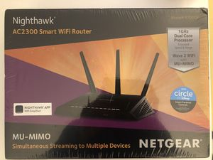 Netgear Nighthawk AC2300 router for Sale in Brambleton, VA