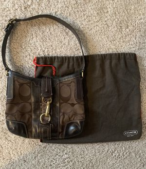 Photo Coach Purse with Cover (Vintage)