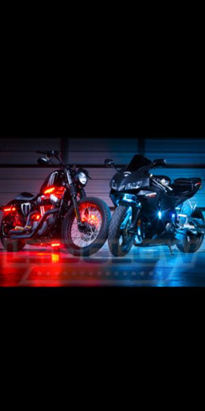 LED light kit for motorcycle .. best Christmas gift for motorcycle lovers for Sale in Miami, FL