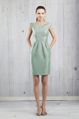 Jenny Yoo Hadley Bridesmaid Dress in Spearmint Luxe Shantung Size 4 for Sale in Denver, CO