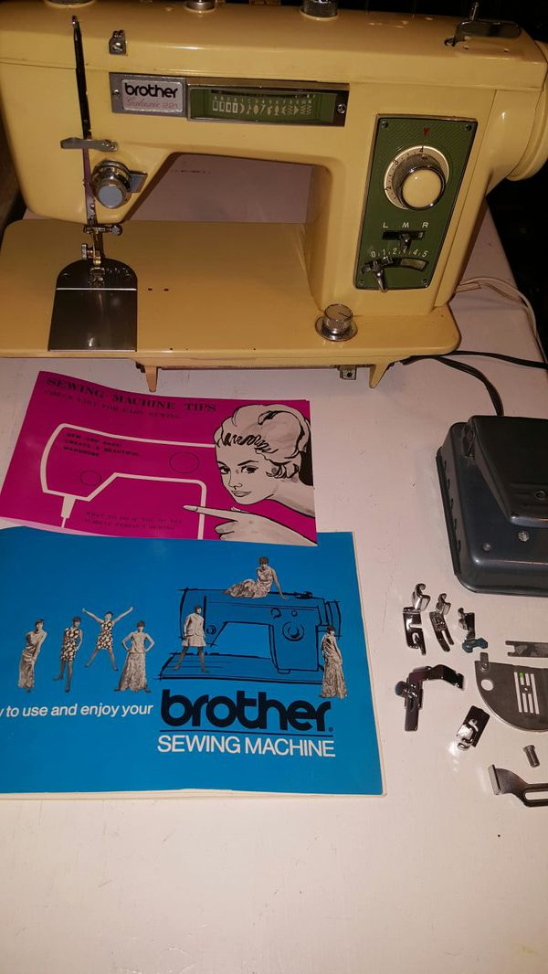 Vintage Brother Galaxy 40 Heavyduty Sewing Machine For Sale In New Brother 35th Anniversary Sewing Machine
