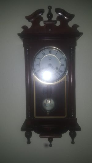 Antique Polaris Cherry Wood Hanging 31 Day Grandfather Clock for Sale in Tampa, FL