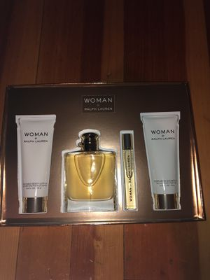 Woman By Ralph Lauren Perfume Set! for Sale in Portland, OR
