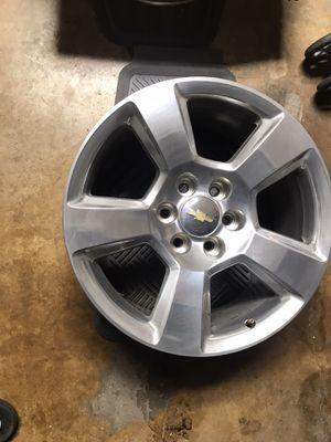 Photo Chevy OEM 20 rims wheels