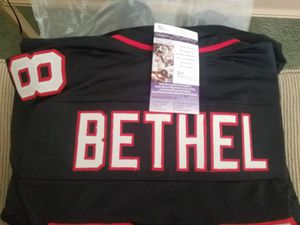 Arizona Cardinals hand signed jersey by BETHEL. for Sale in Cave Creek, AZ