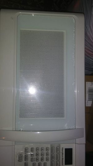 Almost brand new hamilton beach microwave for Sale in Columbus, OH
