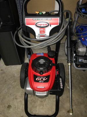Simpson 3000 PSI 2.4GPM Honda Gas Powered Heavy Duty Pressure Washer for Sale in Kissimmee, FL