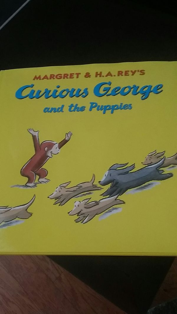 Curious George And The Puppies By Margret And Ha Rey For Sale In