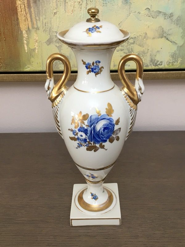 Dresden Vase Approximately 11 High Antiques In Miami Fl Offerup