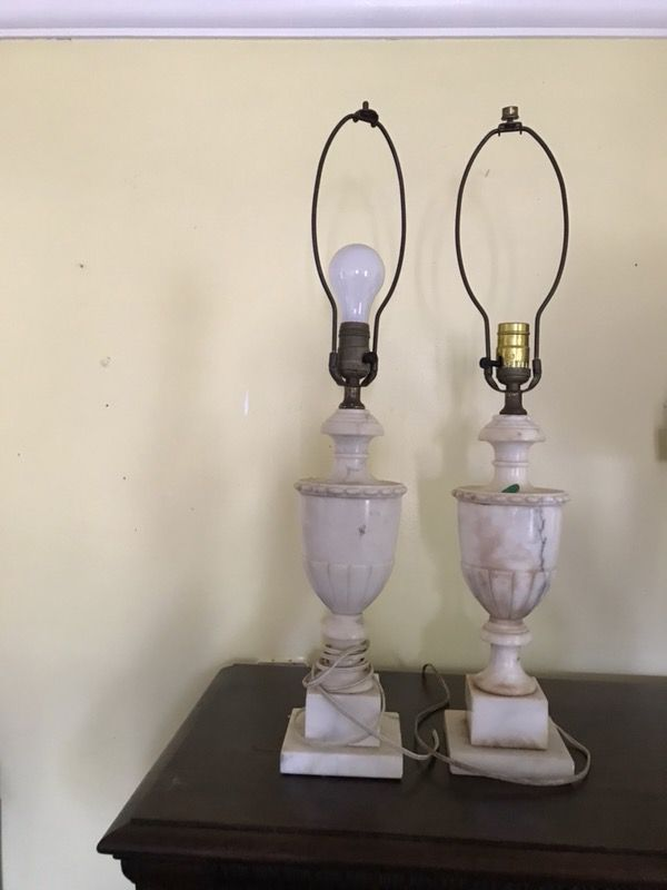 white with pair lighting floral carved not century alabaster design lamps included product shades lamp of