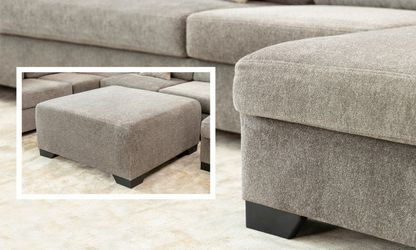 Same day delivery 💫💫Herman  Platinum RAF&laf sectional/couch 🤠39$down payment Thumbnail