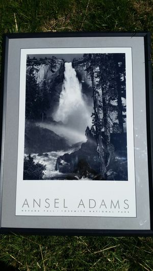 Ansel Adams Authorized Edition *HUGE* framed poster for Sale in Montgomery Village, MD