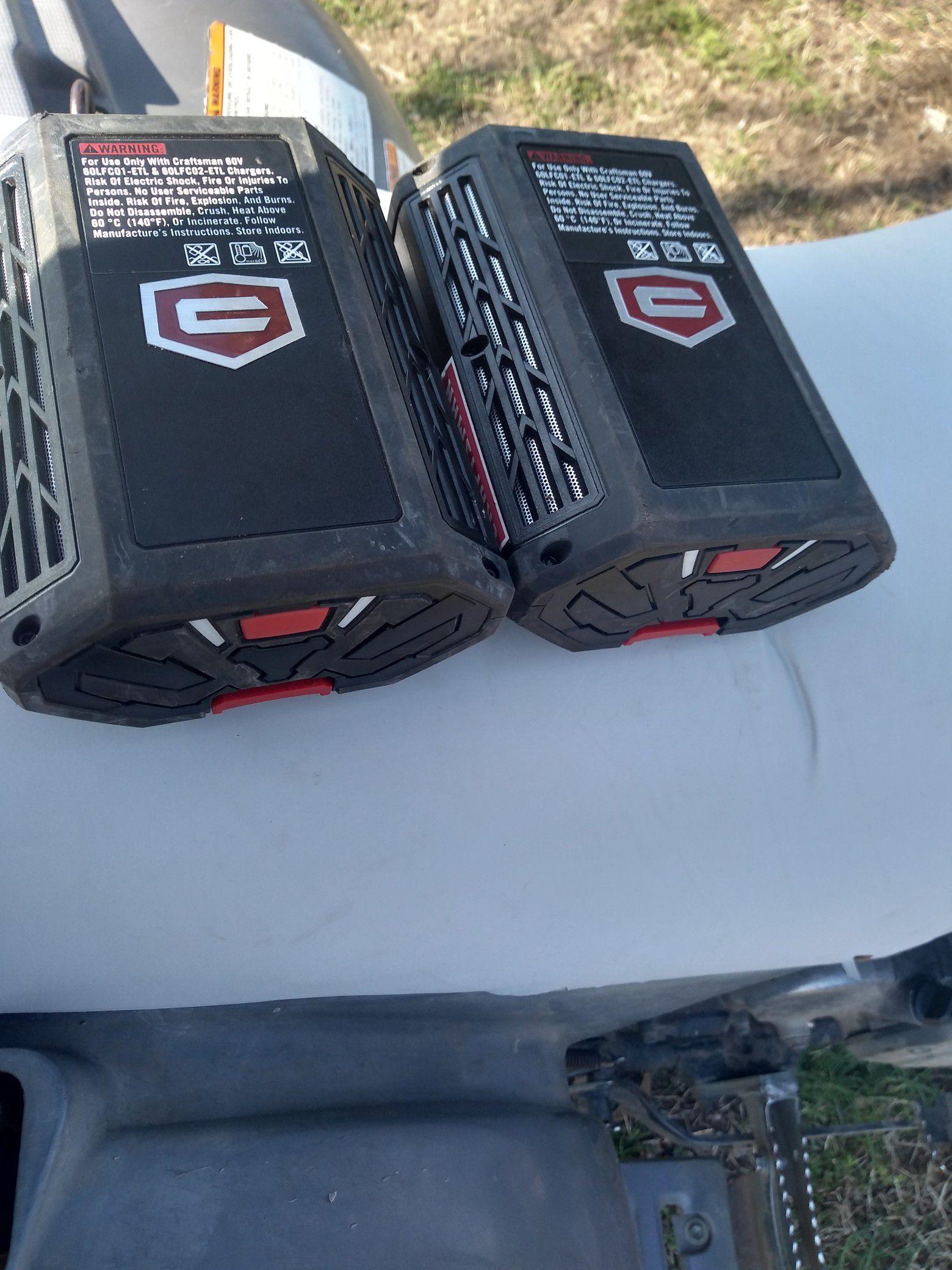 Craftsman 60v batteries