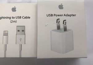 Apple cable and wall adapter bundle for Sale in Orlando, FL