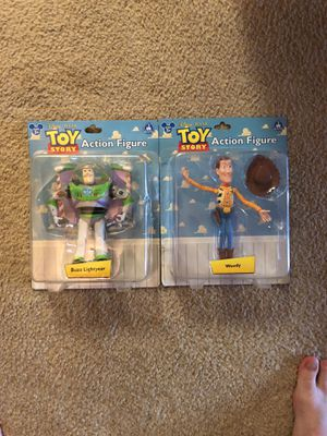 Woody and buzz action figures for Sale in Orlando, FL
