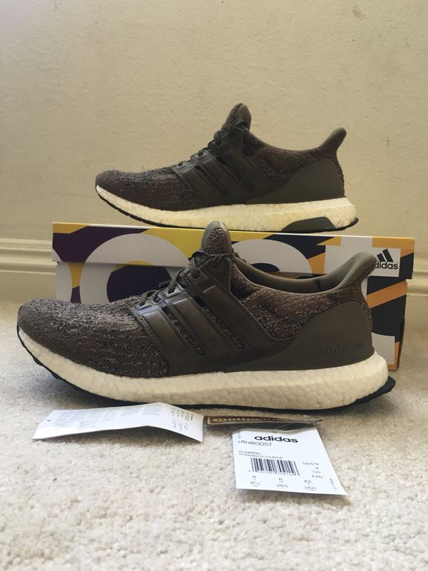 7761327f7a5c0 Adidas Ultra Boost 3.0 Trace Olive Size 8.5 Used ultraboost for Sale ...