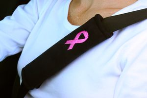 Pink Ribbon Seatbelt Cover/Pad/Cushion for Breast Cancer for Sale in Winter Springs, FL