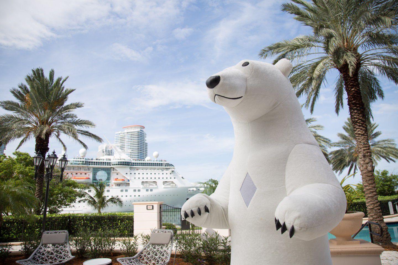 Polar Bear, Birthday character,entertainment for kids
