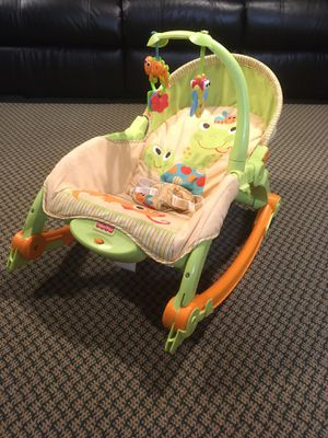 Photo Fisher Price Newborn to Toddler Rocker & Seat w/ Vibrations