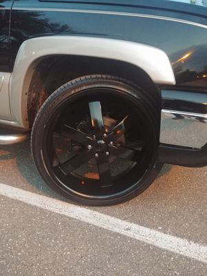 "26"" 6lug chevy wheels for Sale in District Heights, MD"