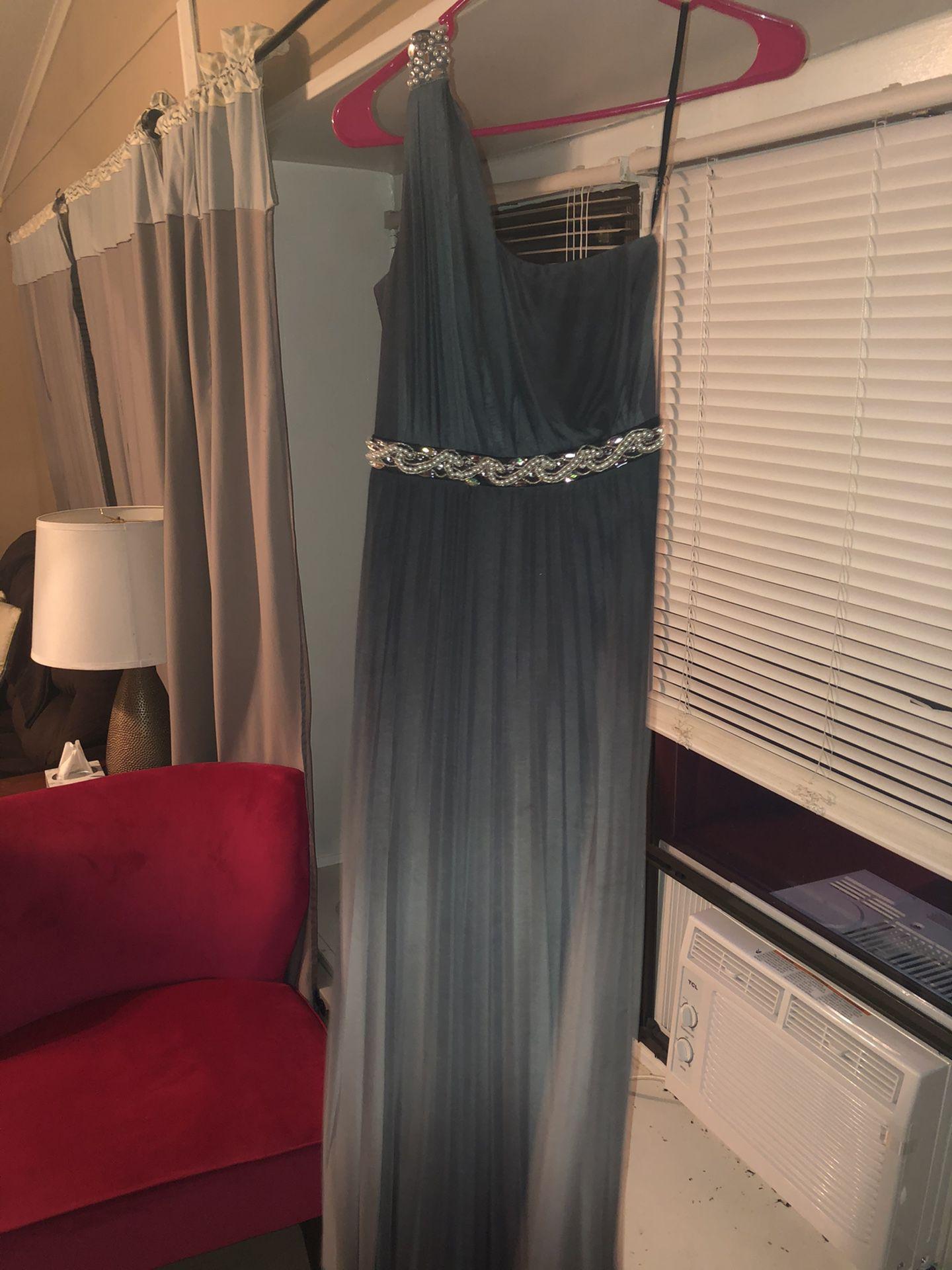 Black Ombré Dress