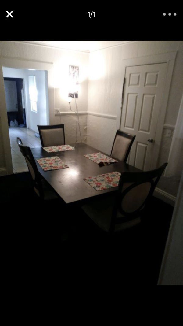 Dining Room Table With Four Chairs Very Sturdy 50 Furniture In Orlando FL