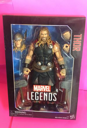 "Marvel Legends Series Thor 12"" Action Figure Hasbro for Sale in Las Vegas, NV"