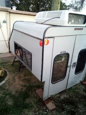 Cper shell with ac small truck for Sale in Tucson, AZ