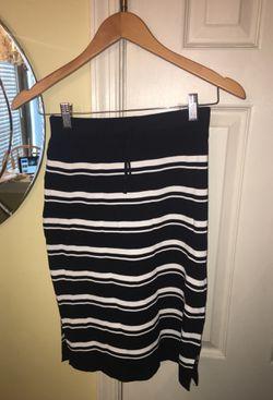 black and white stripe set womens M Thumbnail