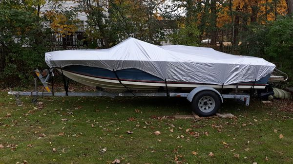 1986 supersport stingray with trailer