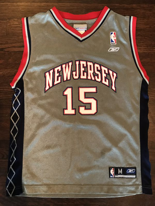 official photos 2312b 08c0b Vince Carter Youth New Jersey Nets NBA Jersey for Sale in Tacoma, WA -  OfferUp