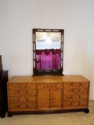 Antique dresser & mirror for Sale in Ashburn, VA