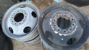 DUALLY CHEVY RIMS 10 LUG NUTS for Sale in Las Vegas, NV
