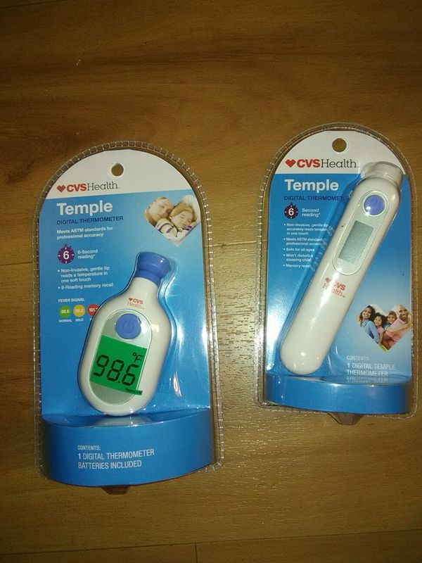 walgreens digital temple thermometer manual
