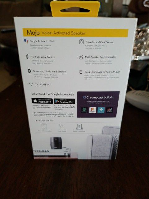 Mojo voice activated speaker for Sale in Charlotte, NC - OfferUp